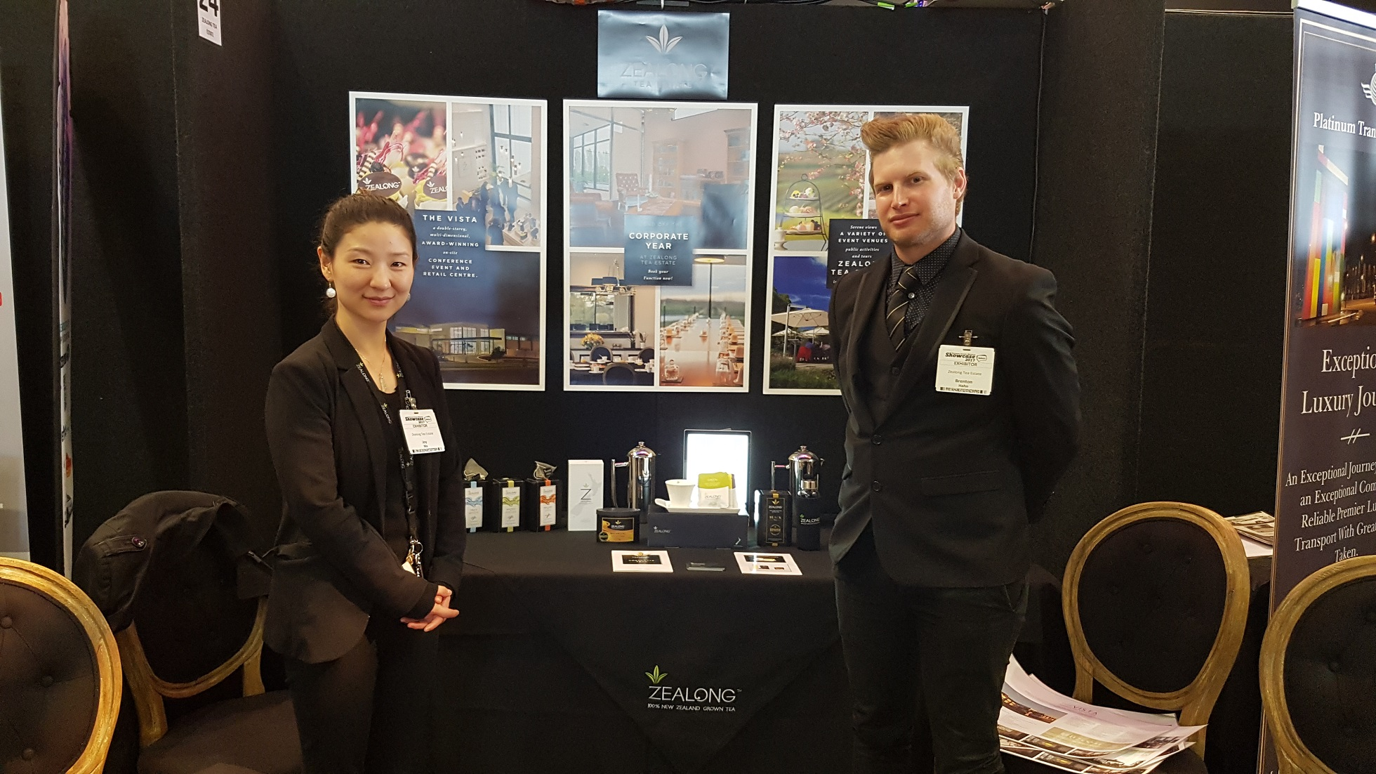 Business Events Waikato Showcase Zealong Tea | Platinum Transfers & Tours Hamilton NZ