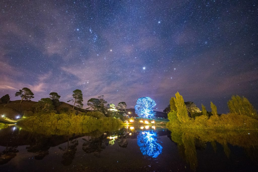 Fireworks Over Hobbiton | Platinum Transfers & Tours NZ