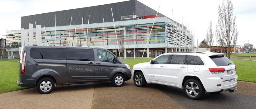 The Company vehicles | Platinum Transfers & Tours Hamilton NZ